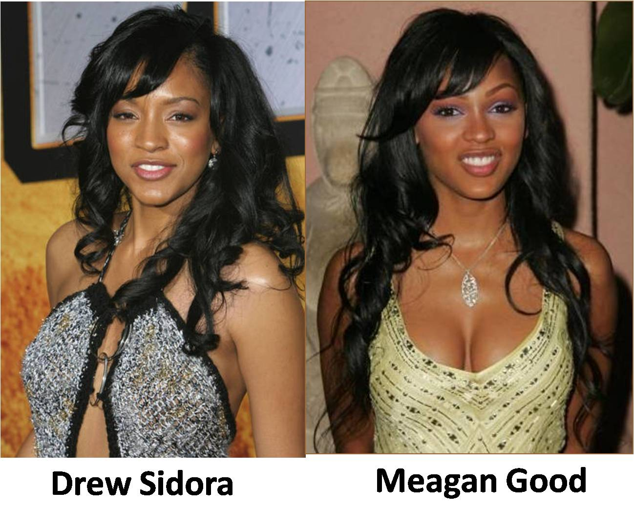 Meagan Good And Drew Sidora Sisters